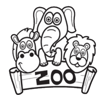 A To Z Kids Stuff Zoo Coloring Pages