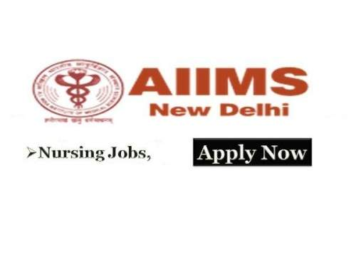 AIIMS New Delhi Staff Nurse Recruitment