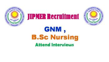 JIPMER Staffnurse Recruitment 2019