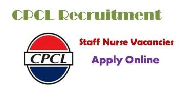 CPCL Recruitment 2019