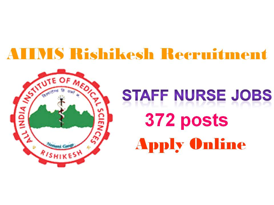 Latest AIIMS Rishikesh Recruitment 2019