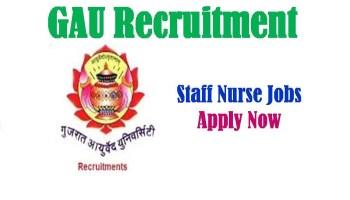 GAU Recruitment 2020