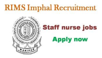 RIMS recruitment 2021