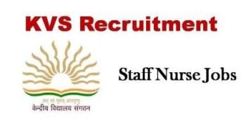 KVS Recruitment 2021