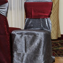 Pewter Chair Country Kitchen Cushions A To Z Party Rental Crush Cover Covers
