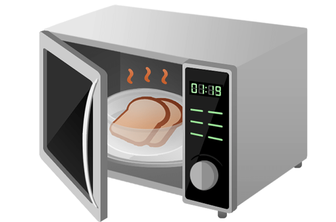 How to clean your microwave's interior