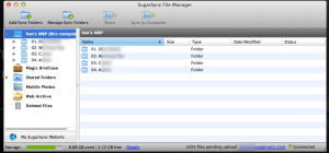 SugarSync File Manager