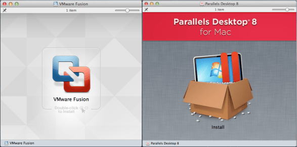 Installing Parallels Desktop 8 and VMware Fusion 5