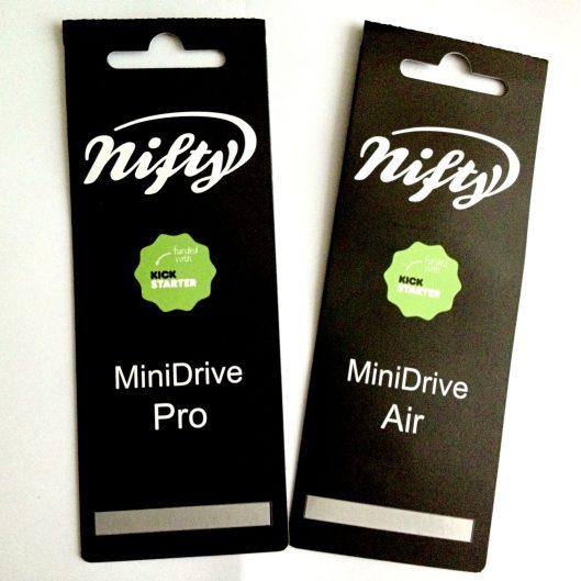 Nifty MiniDrive Pro and MiniDrive Air