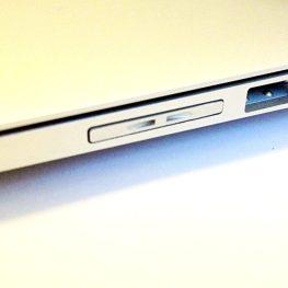 MiniDrive Air on the MacBook Air. Pretty good fit