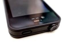 The headphone jack cover