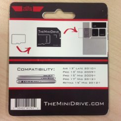 Packaging - Back view