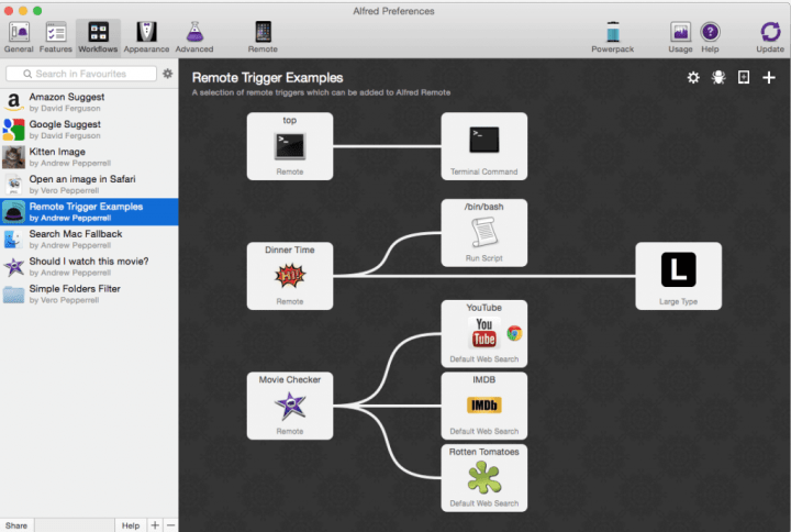 Extend Alfred with Workflows!
