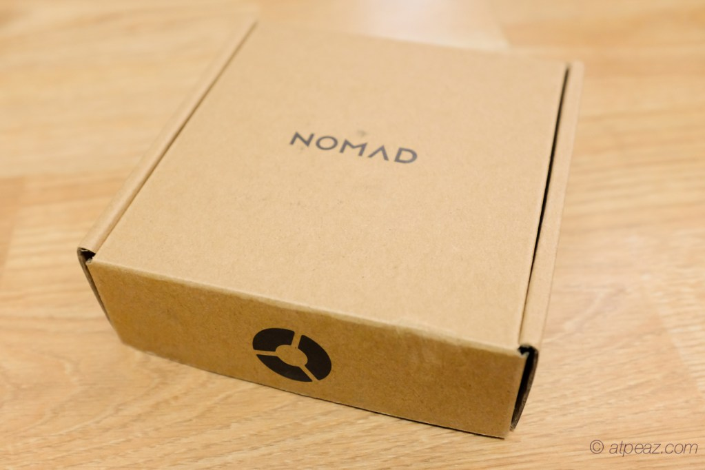 The Nomad Pod for Apple Watch packaging
