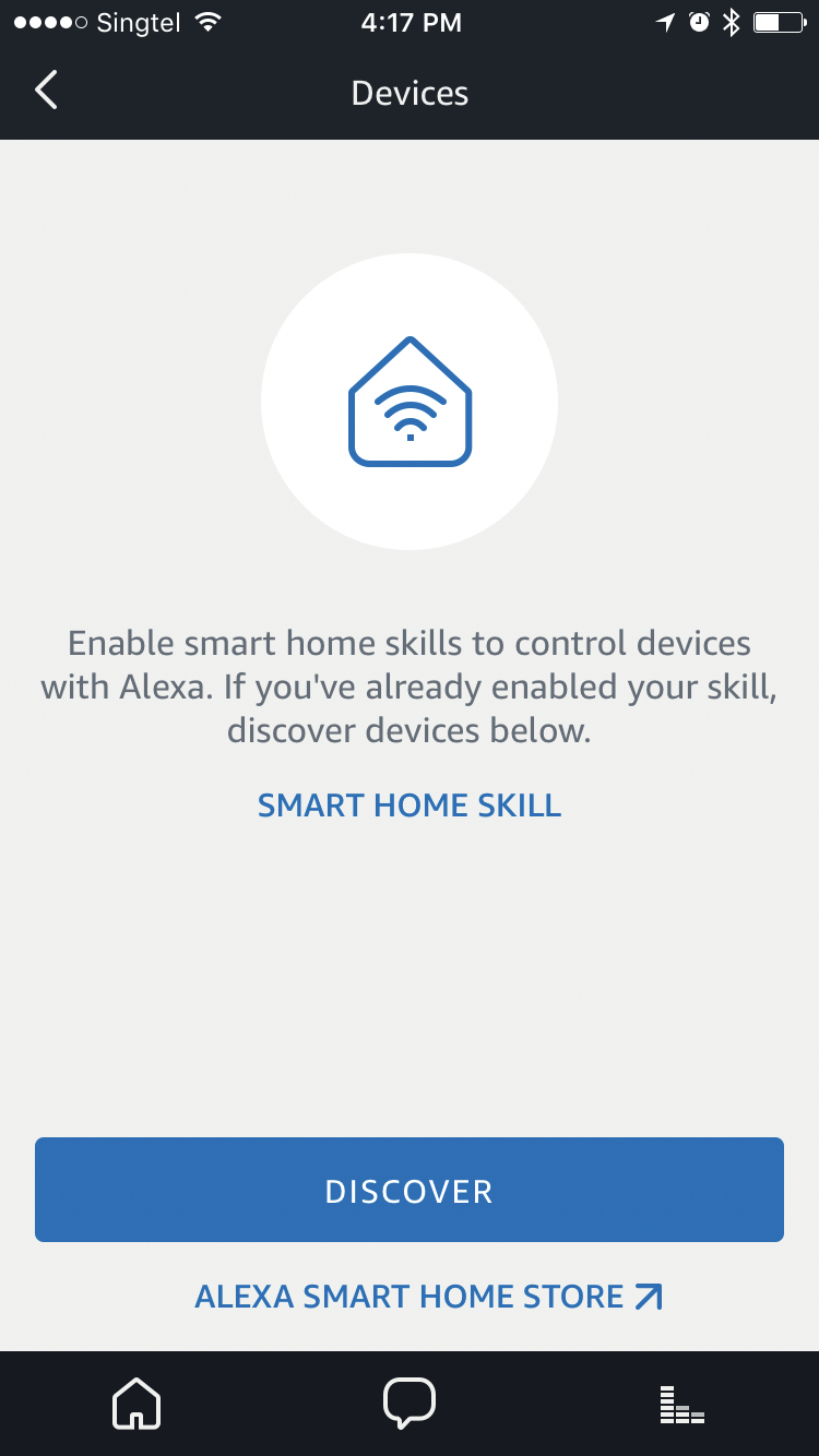 Click to discover devices linked to your Kasa account