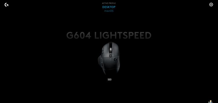 Logitech G604 on G HUB