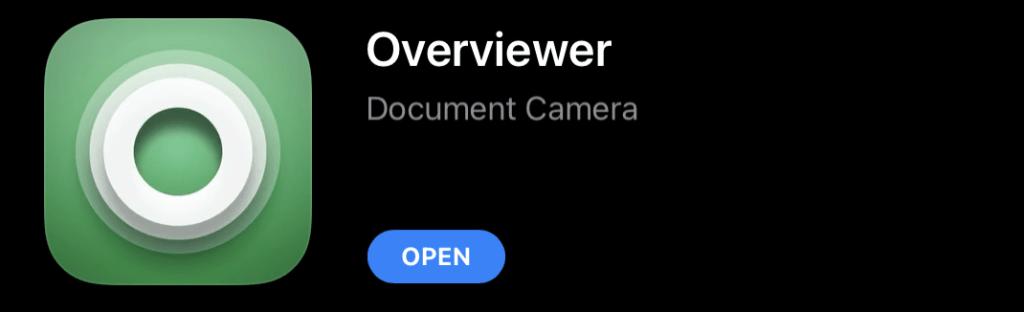 Overviewed app