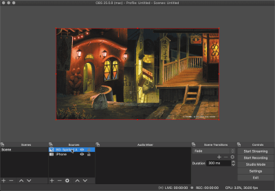 Fitting the image to the canvas size on OBS