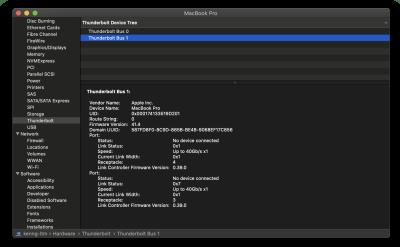 Baseus Armor Age Type-C - Razer Core X on Thunderbolt 3 port - No Thunderbolt devices