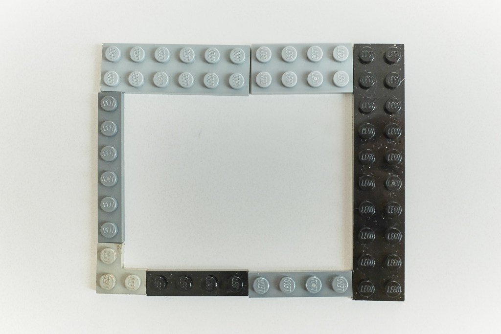 Lego case for the RPi - layer 6