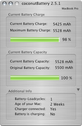ATPM 13.01 - Review: coconutBattery 2.5