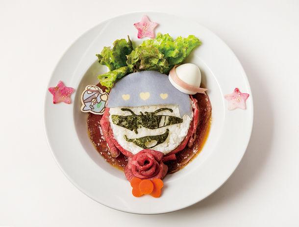 カラ松とタキシードサムの俺たち肉食系!ローストビーフ丼