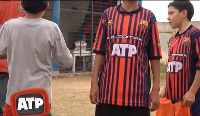 El Club Barcelona Jr ya tiene sus nuevas camisetas – ATP 6e80f77ab056c