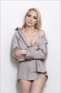 elegant Ukrainian fiancée from city Cherkassy Ukraine
