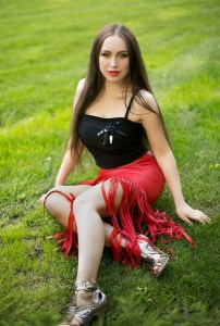 comely Ukrainian fiancée from city Dnepropetrovsk Ukraine