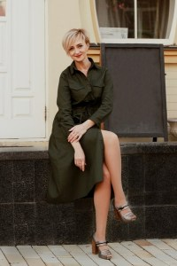 goodly Ukrainian woman from city Kiev Ukraine