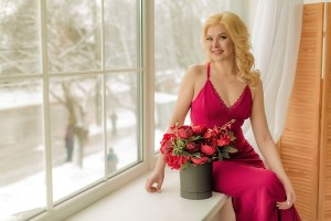 joyful Ukrainian marriageable girl from city Chernigov Ukraine