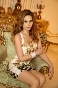 stylish Ukrainian girl from city Kyiv Ukraine