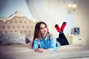 young Ukrainian female from city Zaporozhye Ukraine