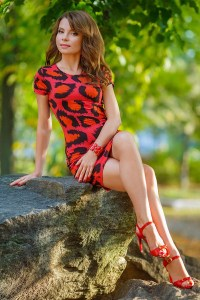 young Ukrainian fiancee from city Dnepropetrovsk Ukraine