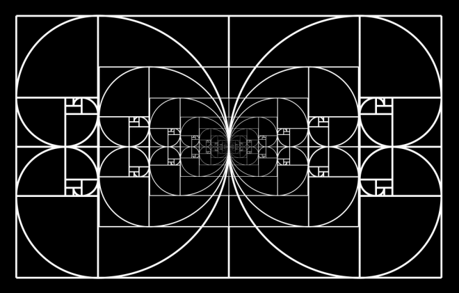 Everything is Fractal, and according to the Golden Ratio