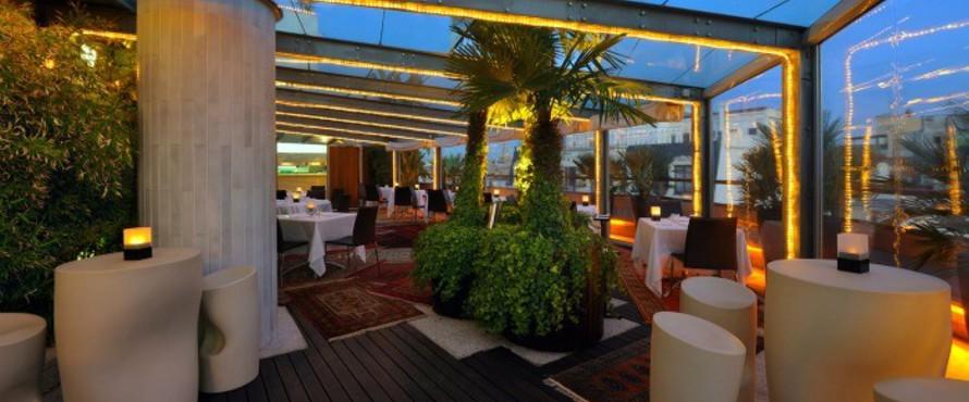Restaurante La Terraza del Claris Barcelona  Atrapalocom