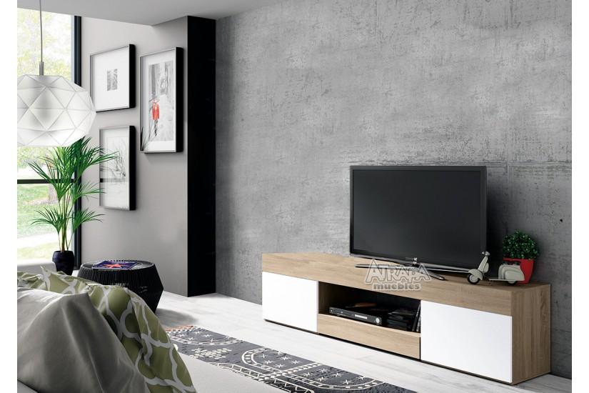 Mueble bajo TV LOGAN al MEJOR PRECIO