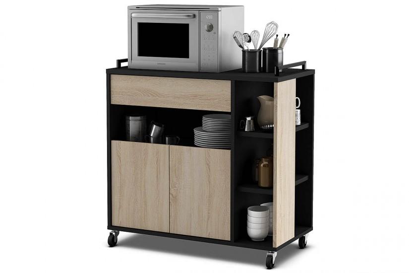 Mueble  Carro de cocina con diseo LOFT industrial