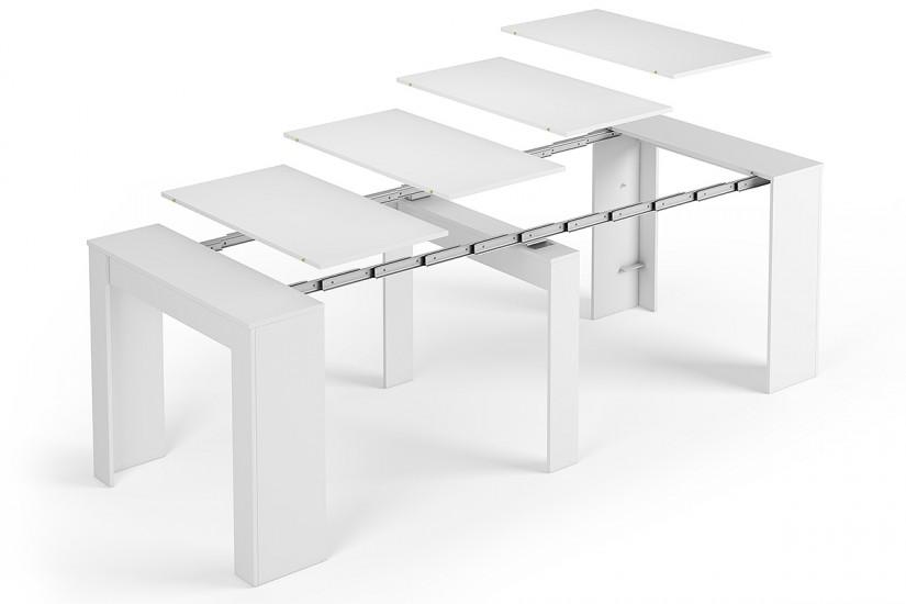 Mesa Consola comedor extensible 4 en 1 De cnsola a mesa