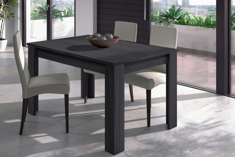 Mesa de saln  comedor extensible 140  190 cm color