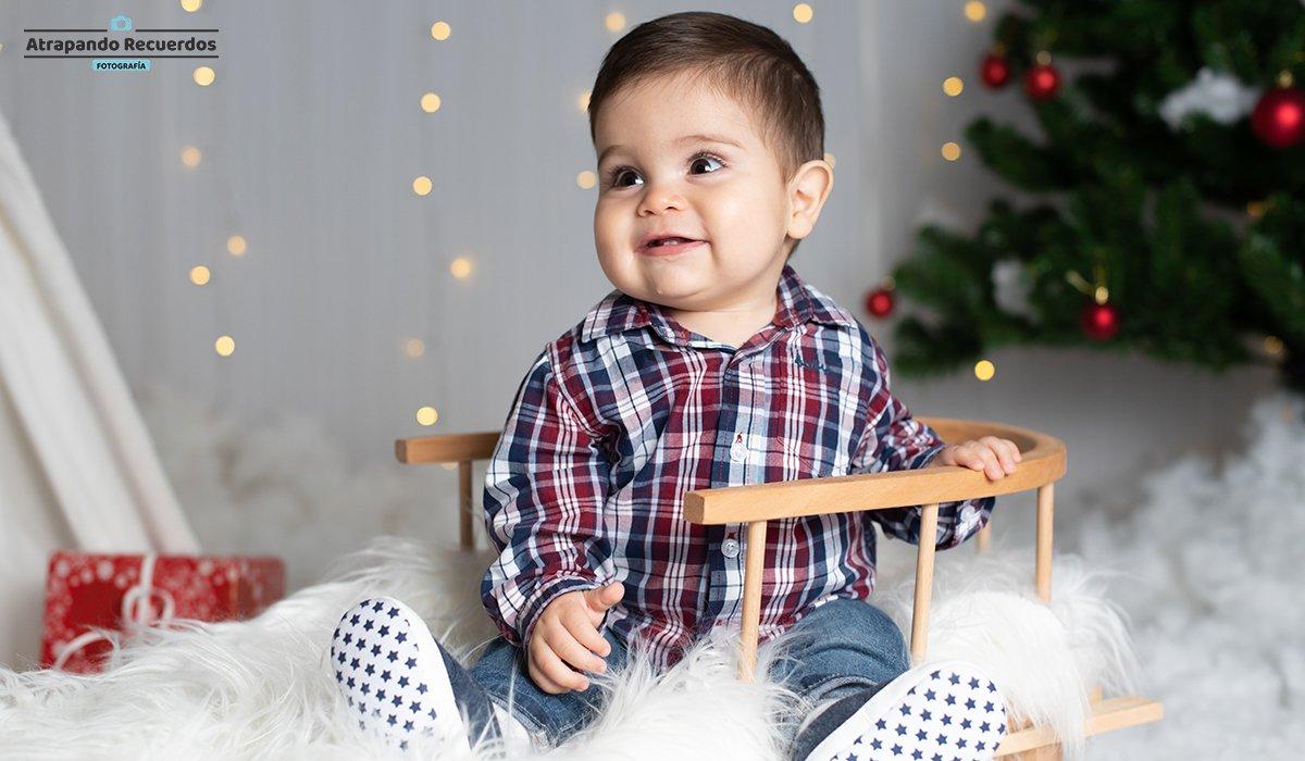 Reportaje de Bebé de Navidad