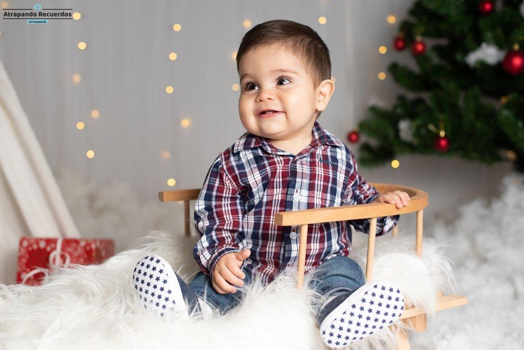 Fotos de Bebes en trineo