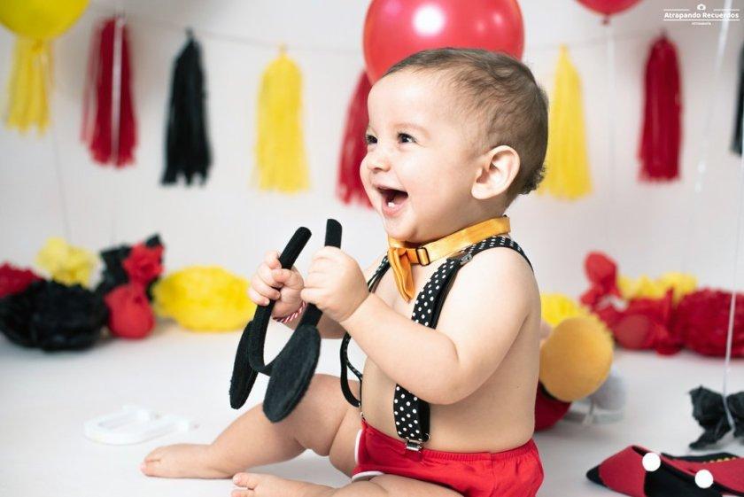 Sesion de fotos infantil cakesmash en Bilbao