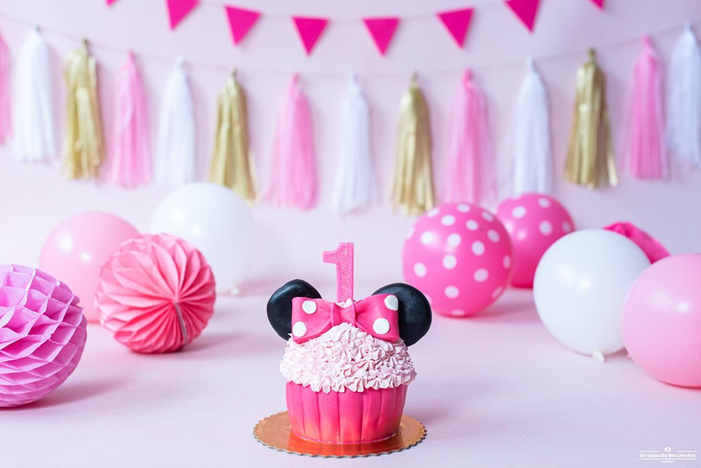 sesion smash cake minnie