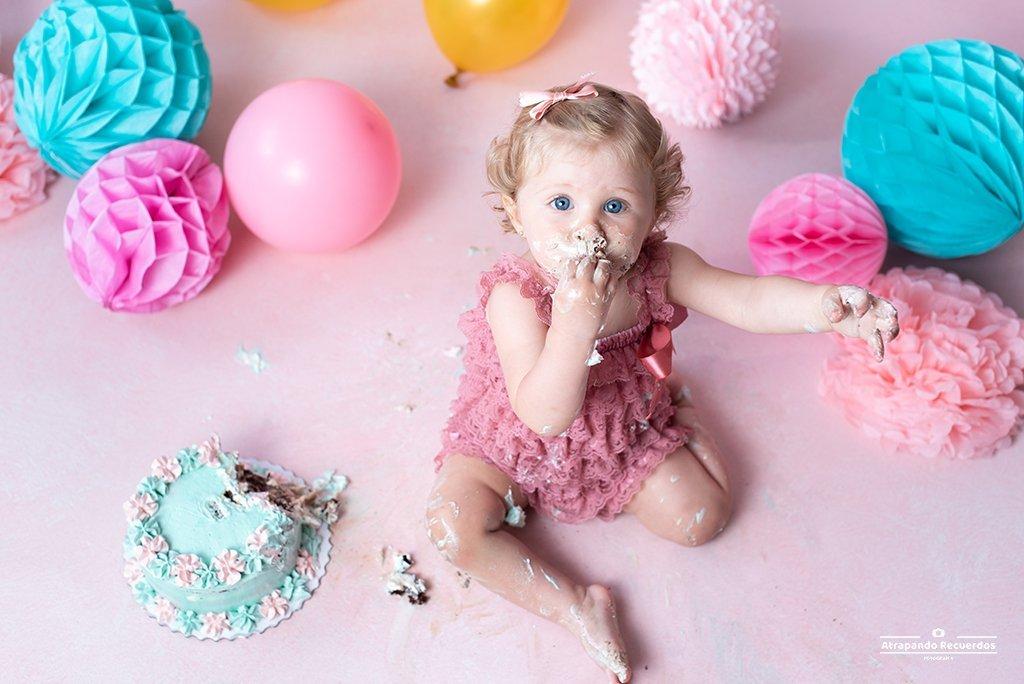 sesión smash cake Leioa