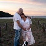 sesion fotos embarazada mascota perro bilbao barakaldo