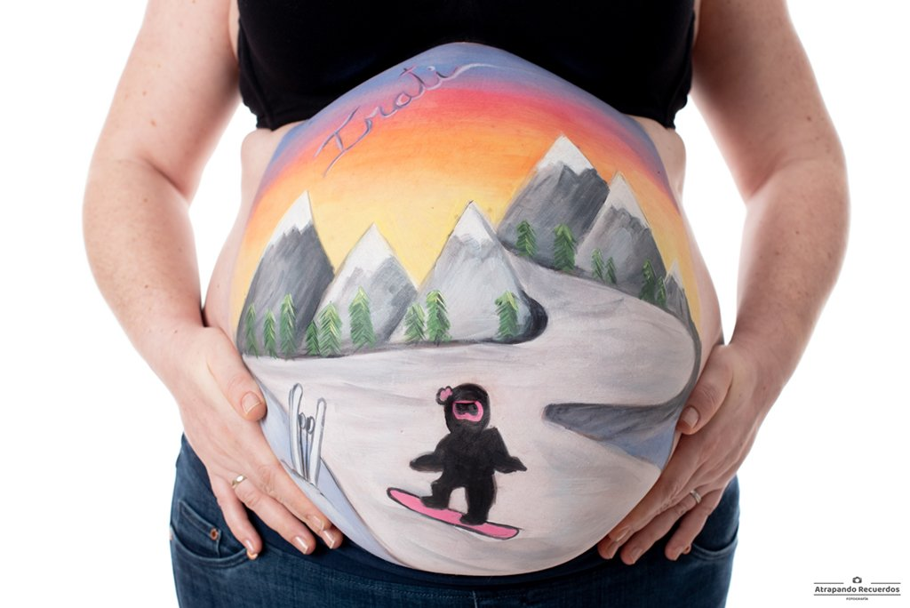 belly painting barakaldo