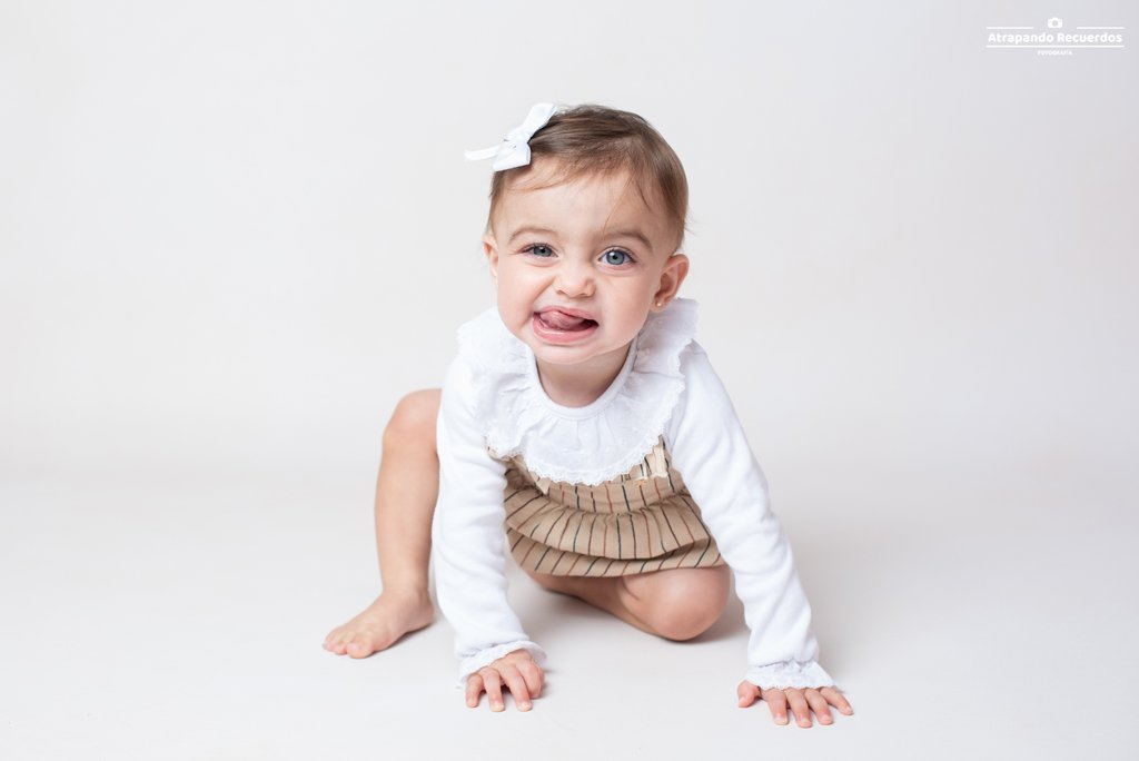 Fotografía bebés primer cumpleaños bilbao