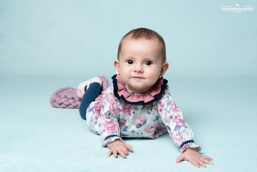 fotografo bebe estudio bilbao