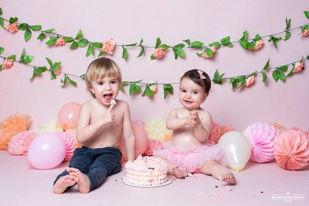 smash cake primer cumpleaños bilbao